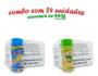 TEMPEROS P/ PIPOCA - Cx 24 FRASCOS - 12 4 QUEIJOS  -12 CEBOLA E SALSA