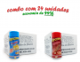 TEMPEROS P/ PIPOCA - Cx 24 FRASCOS - 12 4 QUEIJOS  -12 CHURRASCO