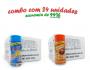 TEMPEROS P/ PIPOCA - Cx 24 FRASCOS - 12 4 QUEIJOS  - 12 FRANGO ASSADO
