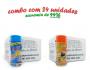 TEMPEROS P/ PIPOCA - Cx 24 FRASCOS - 12 4 QUEIJOS  - 12 MOLHO MEXICANO