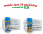 TEMPEROS P/ PIPOCA - Cx 24 FRASCOS - 12 4 QUEIJOS  - 12 PARMESÃO