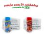 TEMPEROS P/ PIPOCA - Cx 24 FRASCOS - 12 4 QUEIJOS  - 12 PICANHA