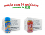 TEMPEROS P/ PIPOCA - Cx 24 FRASCOS - 12 4 QUEIJOS  - 12 SAL DO HIMALAIA