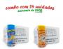 TEMPEROS P/ PIPOCA - Cx 24 FRASCOS - 12 4 QUEIJOS  - 12 SAL POPCORN
