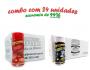 TEMPEROS P/ PIPOCA - Cx 24 FRASCOS - 12 BACON - 12 FLAVAPOP MANTEIGA