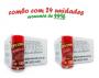 TEMPEROS P/ PIPOCA - Cx 24 FRASCOS - 12 CALABRESA  - 12 BACON