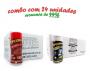 TEMPEROS P/ PIPOCA - Cx 24 FRASCOS - 12 CALABRESA  - 12 FLAVAPOP MANTEIGA