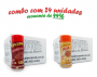 TEMPEROS P/ PIPOCA - Cx 24 FRASCOS - 12 CALABRESA  - 12 PIZZA