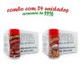 TEMPEROS P/ PIPOCA - Cx 24 FRASCOS - 12 CALABRESA  - 12 PRESUNTO