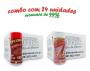 TEMPEROS P/ PIPOCA - Cx 24 FRASCOS - 12 CALABRESA  - 12 SAL DO HIMALAIA