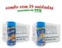 TEMPEROS P/ PIPOCA - Cx 24 FRASCOS - 12 CHEDDAR - 12 4 QUEIJOS