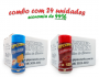 TEMPEROS P/ PIPOCA - Cx 24 FRASCOS - 12 CHEDDAR - 12 CALABRESA