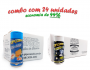 TEMPEROS P/ PIPOCA - Cx 24 FRASCOS - 12 CHEDDAR - 12 FLAVAPOP MANTEIGA