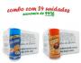 TEMPEROS P/ PIPOCA - Cx 24 FRASCOS - 12 CHEDDAR - 12 FRANGO ASSADO