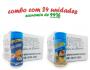 TEMPEROS P/ PIPOCA - Cx 24 FRASCOS - 12 CHEDDAR - 12 PARMESÃO