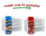 TEMPEROS P/ PIPOCA - Cx 24 FRASCOS - 12 CHEDDAR - 12 PICANHA