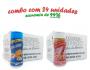 TEMPEROS P/ PIPOCA - Cx 24 FRASCOS - 12 CHEDDAR - 12 SAL DO HIMALAIA