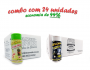 TEMPEROS P/ PIPOCA - Cx 24 FRASCOS - 12 ERVAS FINAS  - 12 FLAVAPOP MANTEIGA