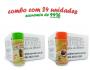 TEMPEROS P/ PIPOCA - Cx 24 FRASCOS - 12 ERVAS FINAS  - 12 MOLHO MEXICANO