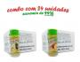 TEMPEROS P/ PIPOCA - Cx 24 FRASCOS - 12 ERVAS FINAS  - 12 TOMATE E QUEIJO