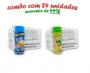 TEMPEROS P/ PIPOCA - Cx 24 FRASCOS - 12 MANTEIGA - 12 CEBOLA E SALSA