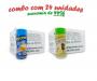 TEMPEROS P/ PIPOCA - Cx 24 FRASCOS - 12 MANTEIGA - 12 ERVAS FINAS