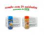 TEMPEROS P/ PIPOCA - Cx 24 FRASCOS - 12 MANTEIGA - 12 PIZZA