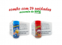 TEMPEROS P/ PIPOCA - Cx 24 FRASCOS - 12 MANTEIGA - 12 PRESUNTO