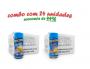 TEMPEROS P/ PIPOCA - Cx 24 FRASCOS - 12 MANTEIGA - 12 QUEIJO
