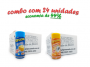 TEMPEROS P/ PIPOCA - Cx 24 FRASCOS - 12 MANTEIGA - 12 SAL POPCORN