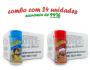 TEMPEROS P/ PIPOCA - Cx 24 FRASCOS - 12 PARMESÃO - 12 PRESUNTO