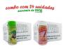 TEMPEROS P/ PIPOCA - Cx 24 FRASCOS - 12 PARMESÃO E ALHO - 12 SAL DO HIMALAIA