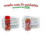TEMPEROS P/ PIPOCA - Cx 24 FRASCOS - 12 PICANHA - 12 SAL DO HIMALAIA