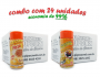 TEMPEROS P/ PIPOCA - Cx 24 FRASCOS - 12 PIZZA - 12 MOLHO MEXICANO