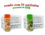 TEMPEROS P/ PIPOCA - Cx 24 FRASCOS - 12 PIZZA - 12 PARMESÃO E ALHO