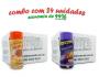 TEMPEROS P/ PIPOCA - Cx 24 FRASCOS - 12 PIZZA - 12 QUEIJO NACHO