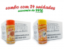 TEMPEROS P/ PIPOCA - Cx 24 FRASCOS - 12 PIZZA - 12 SAL POPCORN