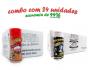 TEMPEROS P/ PIPOCA - Cx 24 FRASCOS - 12 PRESUNTO - 12 FLAVAPOP MANTEIGA