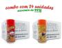 TEMPEROS P/ PIPOCA - Cx 24 FRASCOS - 12 PRESUNTO - 12 MOLHO MEXICANO