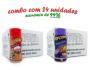 TEMPEROS P/ PIPOCA - Cx 24 FRASCOS - 12 PRESUNTO - 12 QUEIJO NACHO