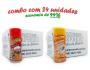 TEMPEROS P/ PIPOCA - Cx 24 FRASCOS - 12 PRESUNTO - 12 SAL POPCORN