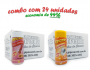 TEMPEROS P/ PIPOCA - Cx 24 FRASCOS - 12 SAL DO HIMALAIA - 12 SAL POPCORN