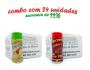 TEMPEROS P/ PIPOCA - Cx 24 FRASCOS - 12 TOMATE E QUEIJO - 12 CALABRESA