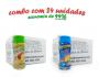 TEMPEROS P/ PIPOCA - Cx 24 FRASCOS - 12 TOMATE E QUEIJO - 12 QUEIJO