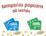 Temperos Popcorn 50 sachês. 25 Manteiga e 25 Cebola e Salsa.
