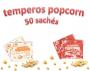 Temperos Popcorn 50 sachês. 25 Pizza e 25 Bacon.