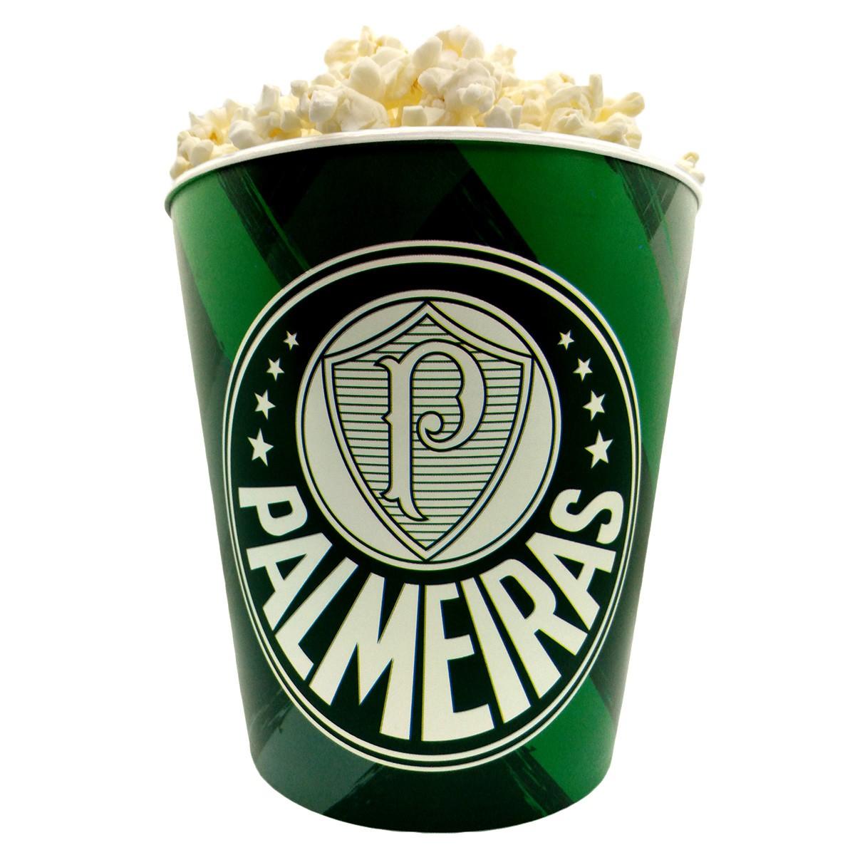Balde de pipoca do Palmeiras