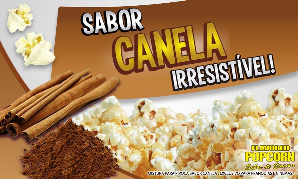 Caramelos e Sabores p/ Pipoca Doce - Canela - 1kg