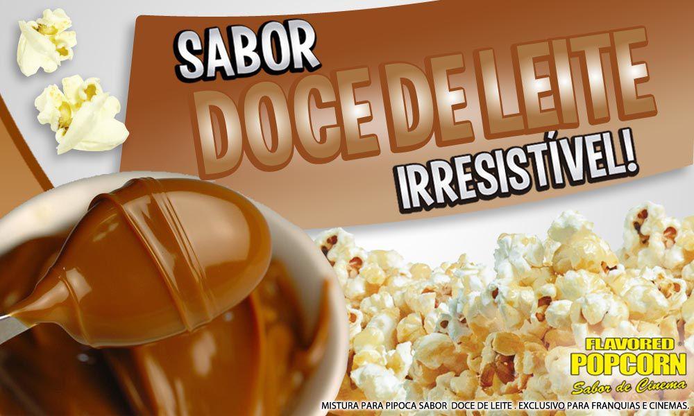 Caramelos p/ Pipoqueiras de Cinema - Doce de leite - Pct 1kg