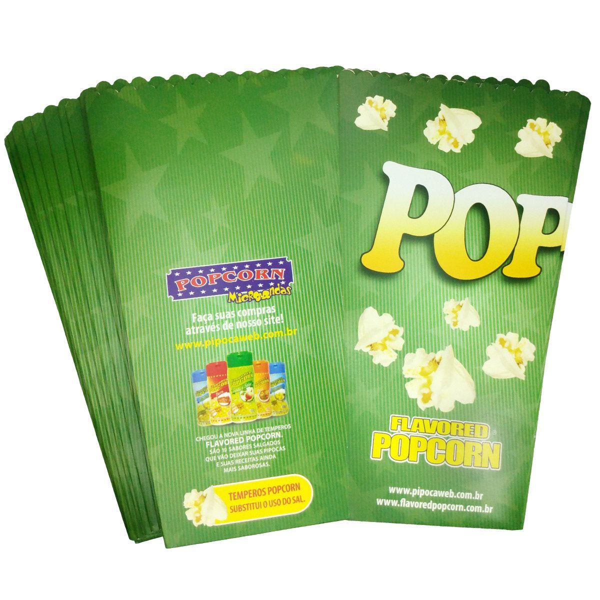 Embalagem Cinema Popcorn BOX MEGA (Tamanho família)